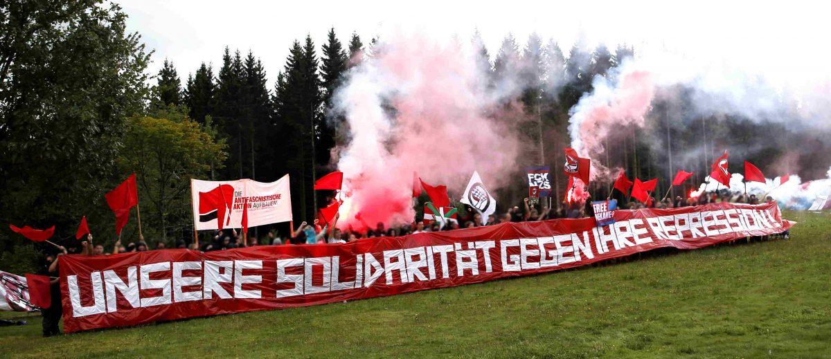 Aktionen, Diskussionen, Lagerfeuer: Drei Tage Antifa-Camp im Schwarzwald